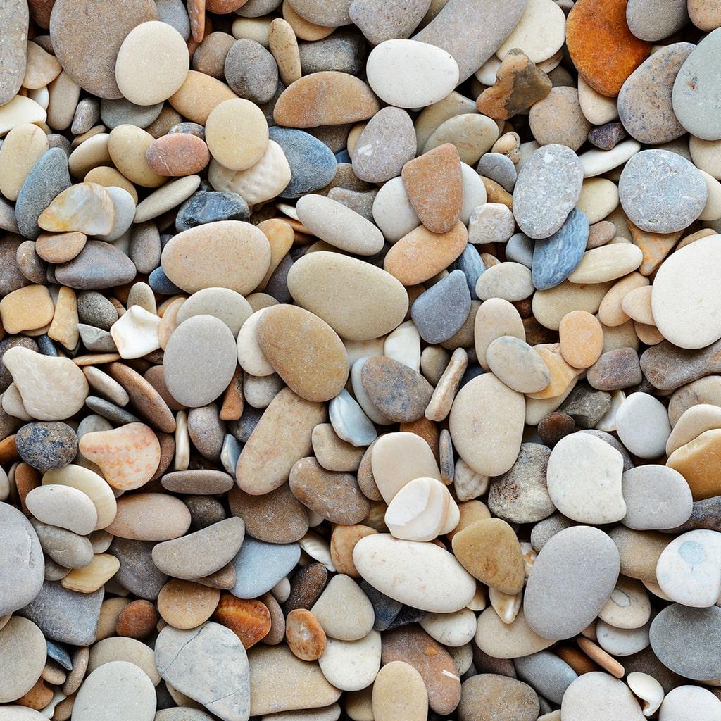 Steinhintergrund von Kieselsteinkunst.de