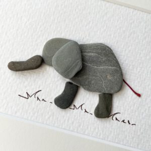 Elefant von Kieselsteinkunst.de
