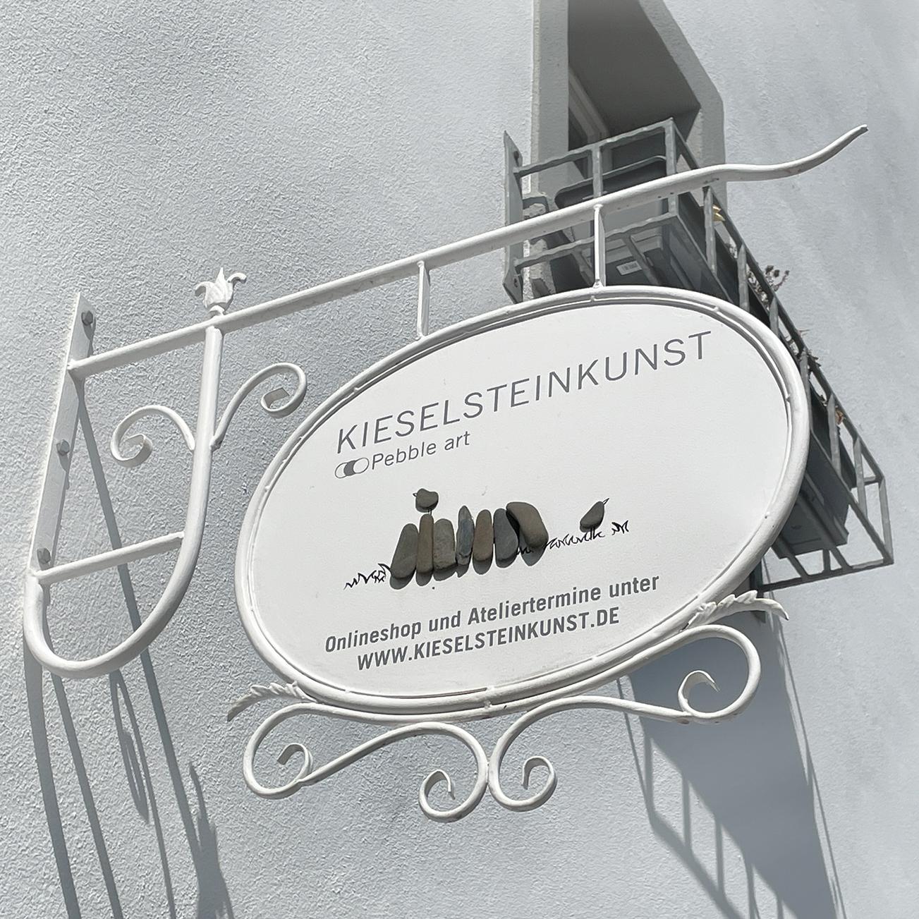 Atelier von Kieselsteinkunst by werbeschneckenart