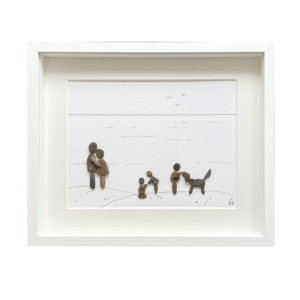 Familienbild von Kieselsteinkunst.de