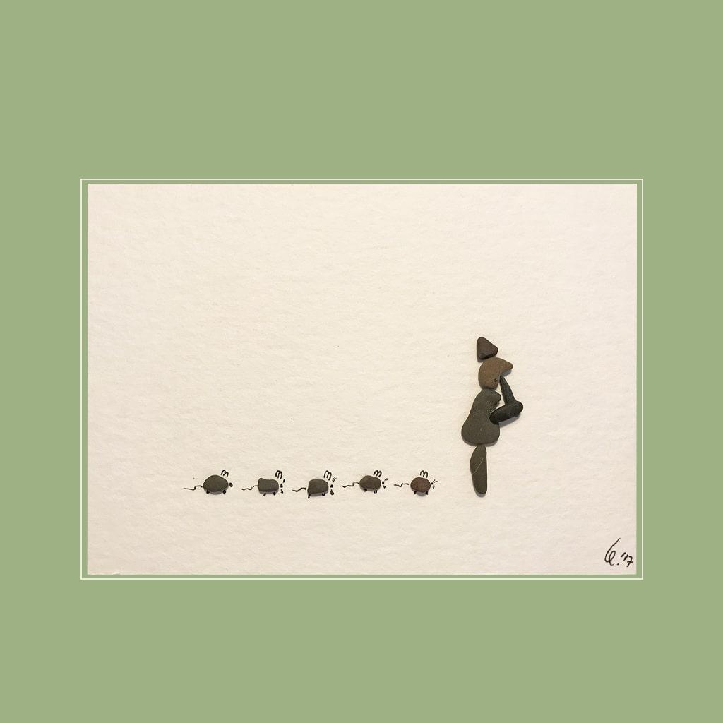 Rattenfaenger von Kieselsteinkunst.de